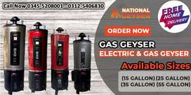 Pakistan no1 gas Geyser at directly factory price