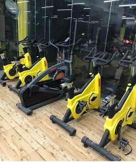 Gym spin bike latest