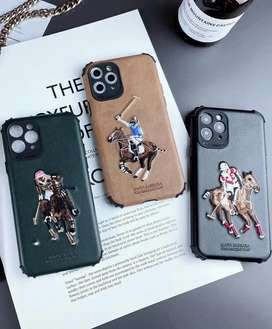 Polo Leather Cover for poco X3 Iphone 7 plus 8 plus 12 pro max 11 pro