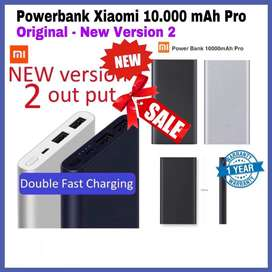 Powerbank Xiaomi Pro 2 10.000mAh ORIGINAL 100% Garansi 1 Tahun