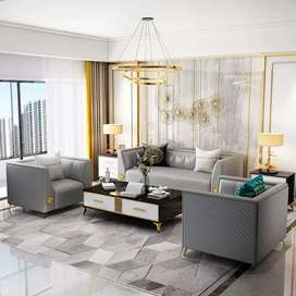 Sofa Sofa Minimalis Modern Kursi Ruang Tamu 321 seat