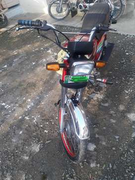 Honda cd 70   Rawalpidi number