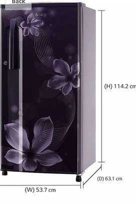 LG 4 star refridgerator Orchid purple colour