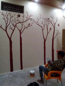 Wall painting-Murals-Designs