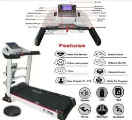 New Treadmill Semi Komersial TL 123M