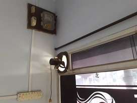 Shop me aluminium n glass panel exos fan laga hua milega