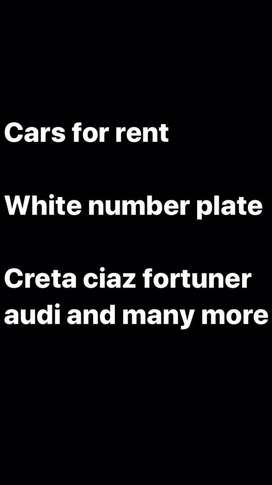 Cars for rents,starting frm 2000 per day