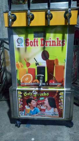 Advanced Soda Machine having SS Body & Cooling backup upto 72 hours...