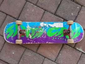 skateboard santa cruz fullset (nego)