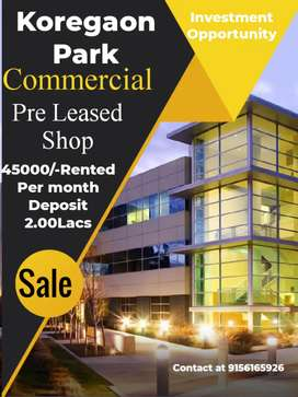 Pre Leased Shop Koregaon park