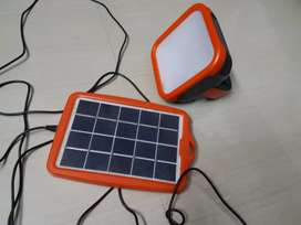 Solar light with mobile charger(portabe)