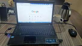 Asus Laptop i3 with 4 gb ram 500hdd