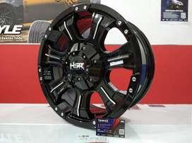 Kredit Velg Mobil Jimny, Ertiga, Escudo dll Ring 16 HSR Wheel