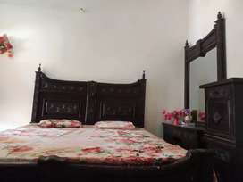 Double bed and dressing