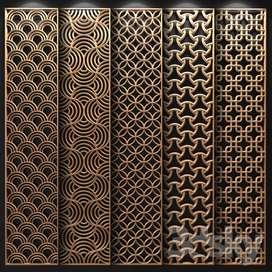 CNC Cutting Jaali - MDF - Wall Panels - Metal Cutting - Wood Carving