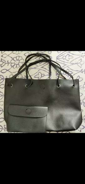 Black purse combo