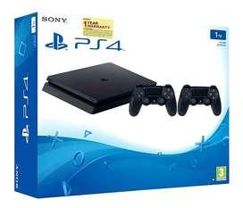 Playstation 4 Slim 1 TB dual
