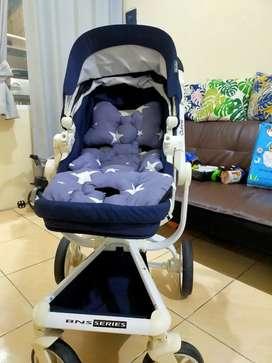 Dijual Stroller merk Chocolate Quintas BNS Series