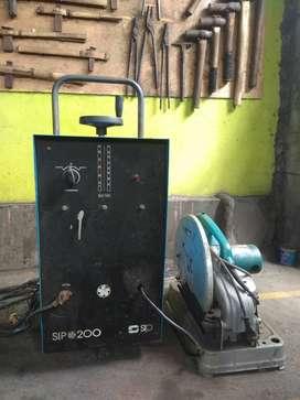 Sepaket Travolas merk SIP 200 dan Mesin Potong merk Makita