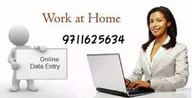 Urgent vacancies for data entry work from home,simple typing jobs