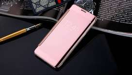 Mirror Cover Flip Case for Samsung Galaxy J120 / J1 2016