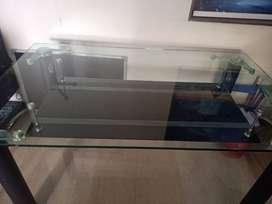Multipurpose glass table beautiful