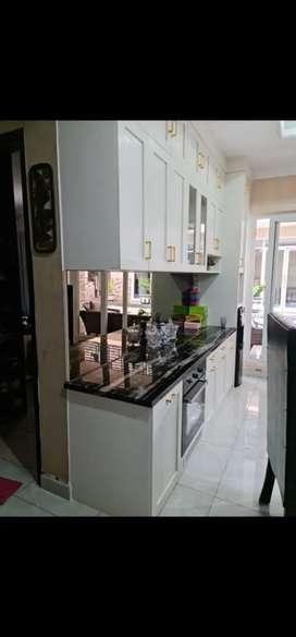 Promo Kitchen Set Almari Back Drop Partisi Meja Kantor Area Gunungpati