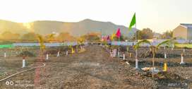 Wide road,  Jejuri Near MIDC available for Sale, Bungalow Plot   Best