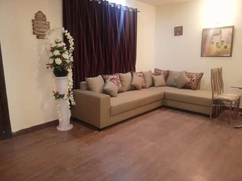 E 11 APPOLO TOWER 2 bed flat full furnished available for rent 0