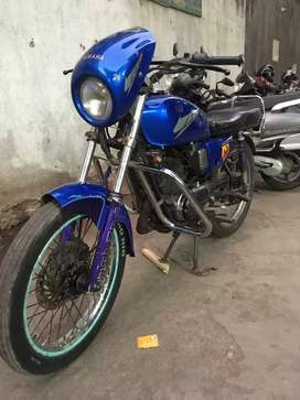 Yamaha RX 135 all paper clear