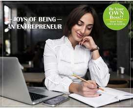Want To Be Your Own Boss ?