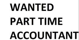 Wanted Part time accountant with minimum 5 yrs experience @ Perungudi