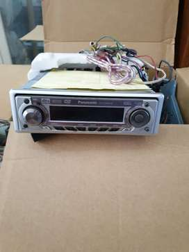Panasonic dvd player receiver head unit seri cq d5501w