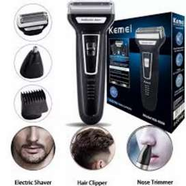 Kemei hair shaving 3 in one Grooming machine best quality