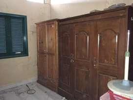 Lemari kayu 2 pintu dan 3 pintu