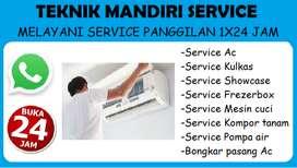 Service Kulkas, Mesin cuci, Frezerbox, Ac (Panggilan 24 jam)