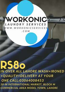 laundry service in overall Lahore