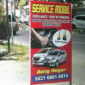 Bengkel mobil freleance/siap di panggil(no hp dI plang)BISMILLAH