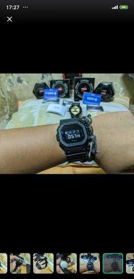 Jam G-Shock DW5600 bb-1dr Fullset original