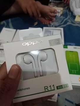 OPPO Original R11 Half In Ear Headset - Putih