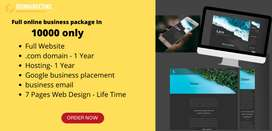 Full online business package In  10000 only