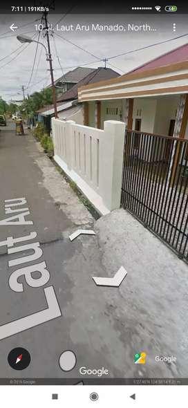 Dikontrakan rumah 8 km, 6 km/wc. Lokasi strategis