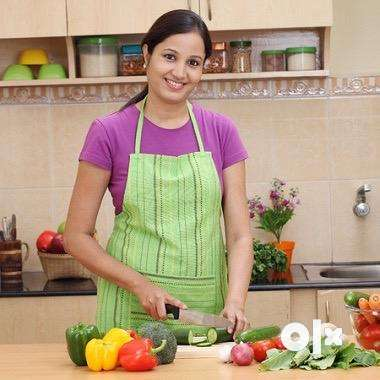 Required female cook + maid in KK nagar 0