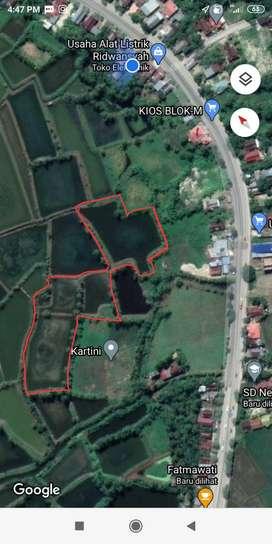 Tanah Empang produktif lokasi strategis