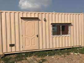 Home made container,prefab homes, portable washrooms