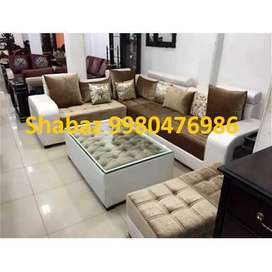 PL25 Corner sofa set with 3 years warranty Cal us