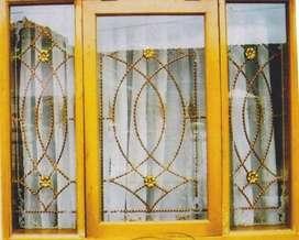 Master teralis besi jendela rumah motif bisa request