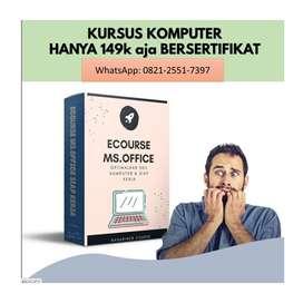 Les Komputer Microsoft Office Lewat Online Bersertifikat