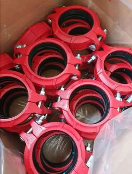 Grooved Coupling for MS Pipe, Victaulic