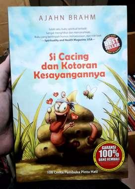 Buku original best seller Si cacing dan kotoran kesayangannya